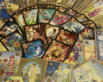 Tarot or Oracle card reading, 1 question, 3 card, within 24 hours