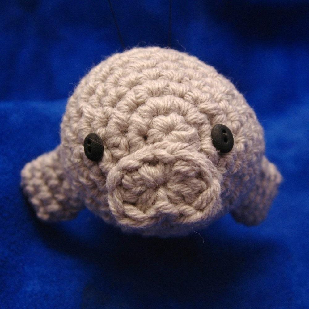 Crochet Swordfish and Manatee Pattern Set PDF plus Narwhal