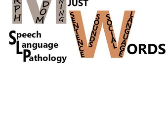 speech language pathology word art svg,dxf files