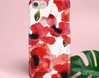 Floral iPhone 8 Case Coque iPhone X Case iPhone 8 Floral Case iPhone X Cover Floral 7 iPhone Case X iPhone Cover iPhone 8 Plus Case YZ1416
