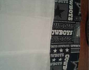 dallas cowboy burp cloth- 2