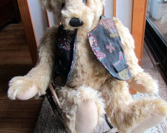 TEDDY BEAR BASIL – A Ganz Cottage Collectible by Mary Holstad  1997