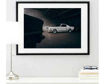 1965 Ford Mustang GT350 Side View, automotive photography, automotive prints, car photography, car prints, american muscle, @richardlephoto