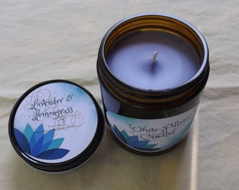 Lavender and Lemongrass Candle