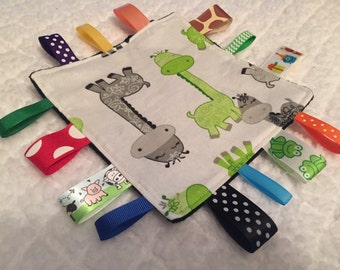 Baby Giraffe Sensory Crinkle Toy