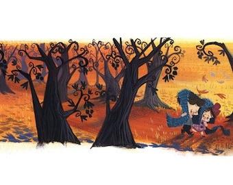 Hansel and Gretel - Print