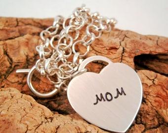 Personalized Charm Bracelet  - Mother's Charm Bracelet - Mother's day gift - Mom bracelet