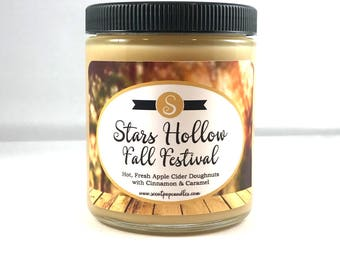 Stars Hollow Fall Festival, Gilmore Girls Inspired Soy Candle