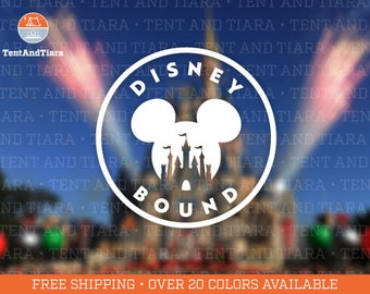 Disney Bound Castle - Vinyl Decal Car Decal Laptop Decal Phone Decal Yeti Decal Water Bottle Decal Gift for Friend