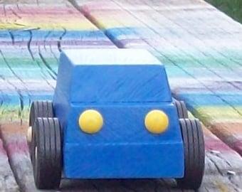 Wooden Toy Car Van