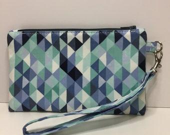 Notions bag, notions pouch, zipper bag, bag, wristlet, clutch