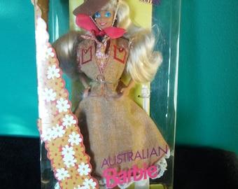 Mattel Dolls of the World Australian Barbie Doll
