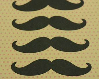 12 Mustache black or any color. Photo Props