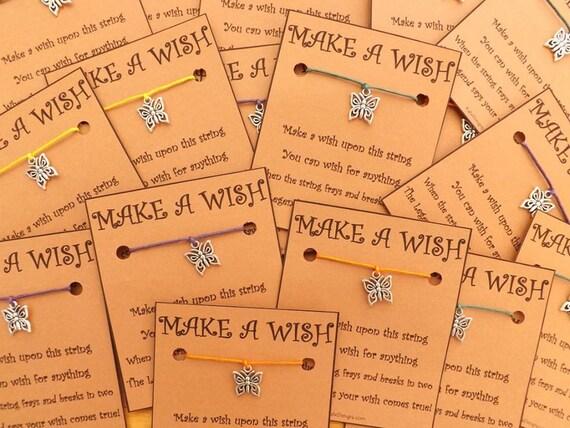 10 - 20 Any Charm of Choice Wish Bracelets