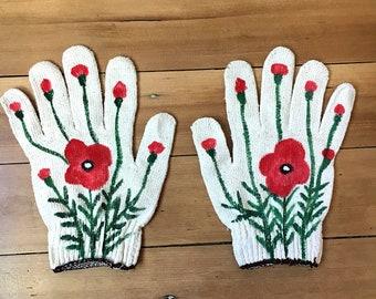 Poppy Gardening Gloves