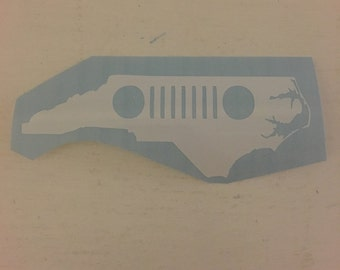 Jeep Decal (ALL 50 STATES AVAILABLE)