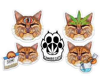 Stoney Cat Sticker Pack