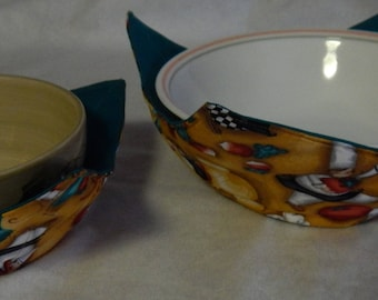 Microwave Bowl Cozies - Set of Two