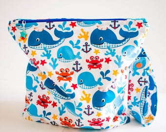Sea Life Wet Bag  (Free Shipping)