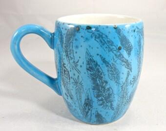 pottery Mug Tea mug coffee mug beer mug  Food safe Lead free Glaze
