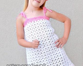 Crochet Pattern Dress, Sundress, Top, Tunic, Jumper Beach CoverUp PDF17-325