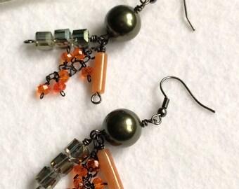 Mossy earrings