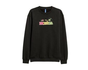 Honda Racing sweater sweatshirt 90s - men Sz XL