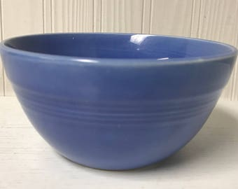 Vintage small Harlequin mauve blue 36S bowl (Fiesta family)