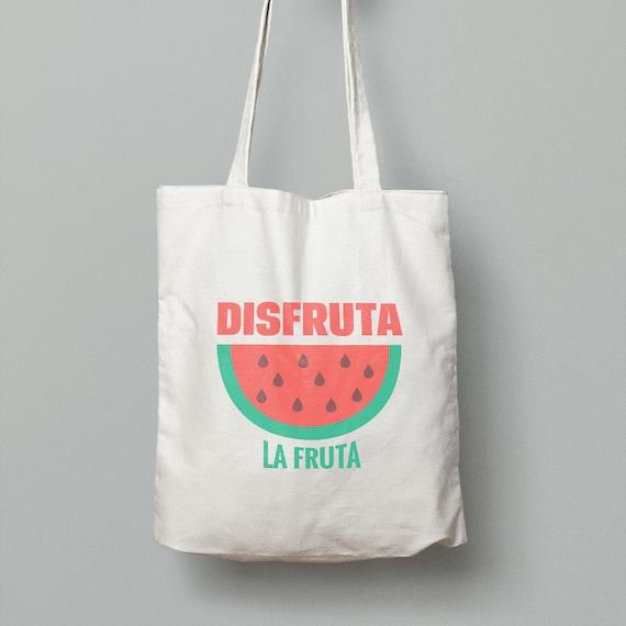 "Spanish Bag ""Disfruta la fruta"""