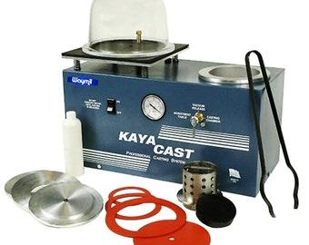 Kaya Cast Vacuum Table Combination Investment & Casting Machine Jewelry Tool WA 365-370