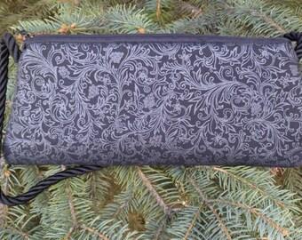 Evening bag, clutch, small shoulder bag or wristlet, ornate vineyard, The Bebe