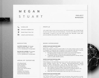 Resume Template   Professional Resume   1 Page Resume   Modern Resume   CV Template + Cover Letter   Compact resume   Creative Resume   CV