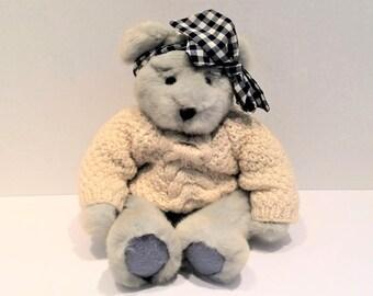 """14"""" Stuffed Teddy Bear By Russ"""