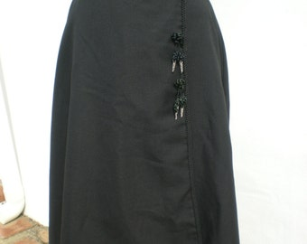 "Girl's Vintage Spanish Riding Skirt - 25"" Waist"