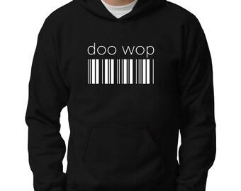 Doo Wop barcode Hoodie