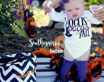 Halloween Shirt, Personalized Halloween Shirt, glitter, hocus pocus Halloween Shirt, Halloween Shirt, monogram shirt, girls Personailized