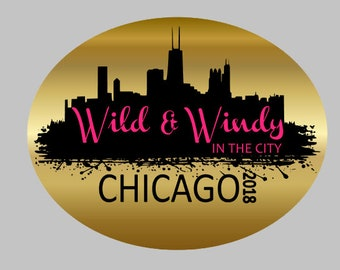 Decal // Vinyl // Wild & Windy In The City