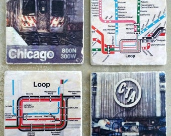 Chicago Loop Collection - Original Coasters