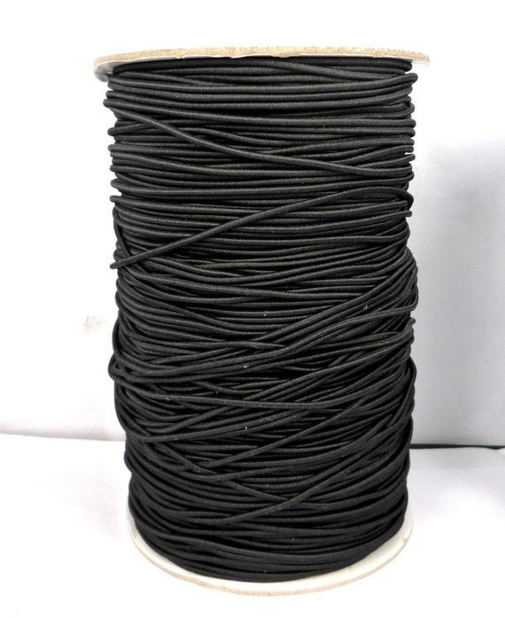 fil elastique noir