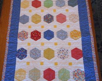 Baby Quilt Modern design Handmade Baby Blanket