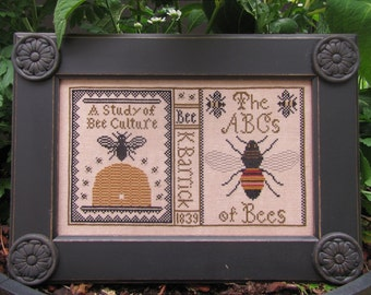 Bee Study Sampler Pattern