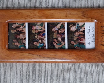 Photobooth Picture Frame made of Hawaiian Koa wood
