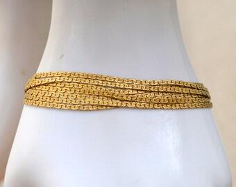 Multi Chain Monet Bracelet Vintage