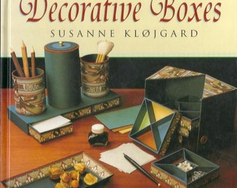 Decorative Boxes by Random House Value Publishing Staff and Susanne Klojgard Hardcover 1995