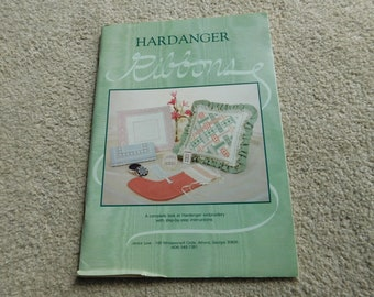 Hardanger Ribbons Pattern Book Janice Love 1984