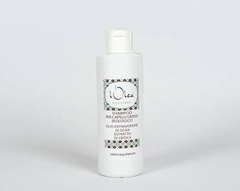 Natural Greasy Hair Shampoo Organic 200 ml natural Handmade Shampoo