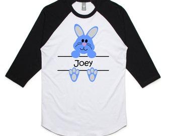 Custom Personalized Spring Rabbit Bunny Shirt