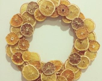 Orange You Glad - Orange Citrus Wreath