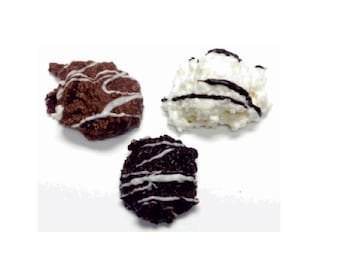 DiabeticFriendly's Chocolate Coconut Haystacks Sugar-Free, Gift Bagged by the 1/2 pound bag