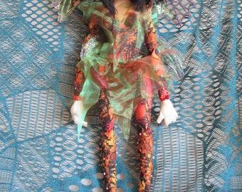 Woodland fairy PIXIE doll